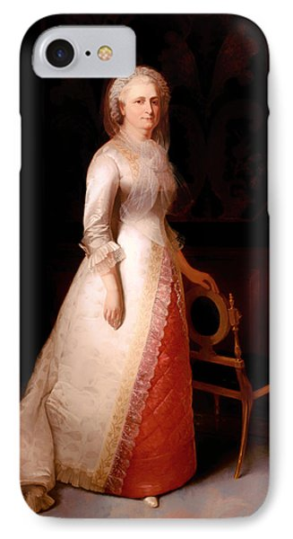 Martha Custis Washington IPhone Case by Mountain Dreams