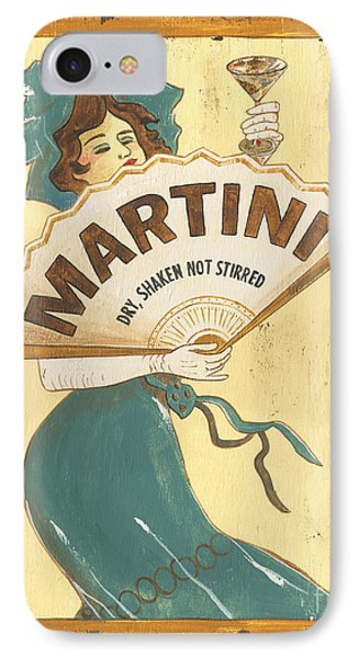 Martini Dry IPhone 7 Case by Debbie DeWitt