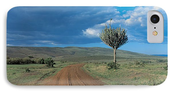 Masai Mara Game Reserve Kenya IPhone Case by Panoramic Images