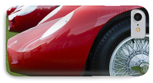 Maserati Red IPhone Case by Dennis Hedberg