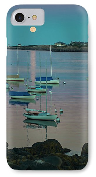 Massachusetts, Cape Ann, Rockport IPhone Case by Walter Bibikow
