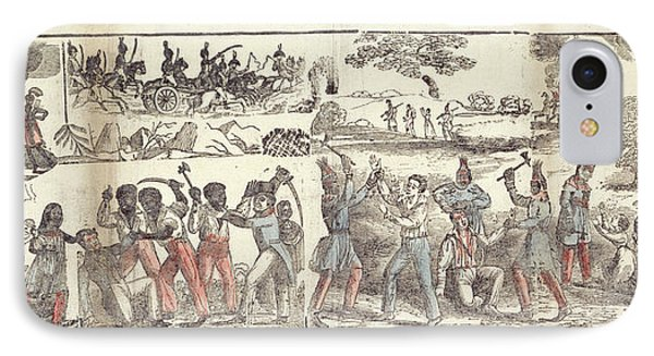 Massacre Of The Whites IPhone Case by British Library