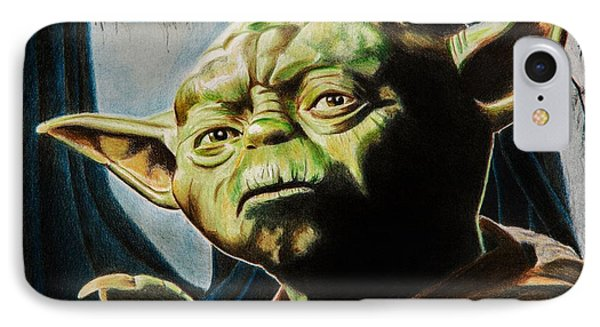 Master Yoda IPhone Case by Brian Broadway
