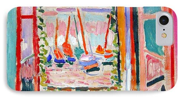 Matisse's Open Window At Collioure IPhone Case by Cora Wandel