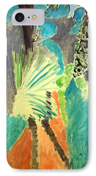 Matisse's Palm Leaf In Tangier IPhone Case by Cora Wandel