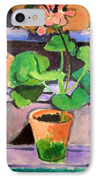 Matisse's Pot Of Geraniums IPhone Case by Cora Wandel