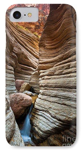 Matkatamiba Canyon IPhone Case by Inge Johnsson