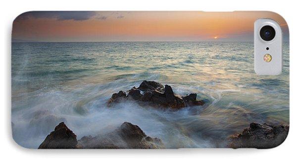 Maui Tidal Swirl Phone Case by Mike  Dawson