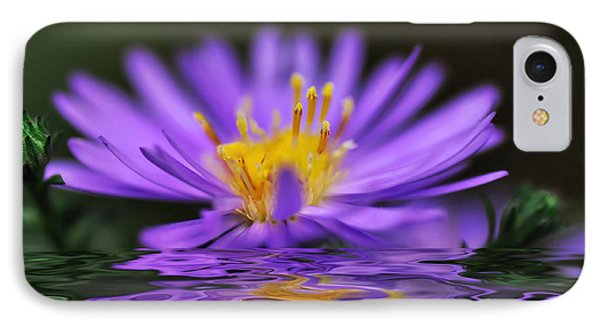 Mauve Softness And Reflections Phone Case by Kaye Menner
