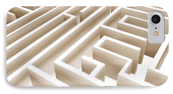 Maze Phone Case by Stefano Senise
