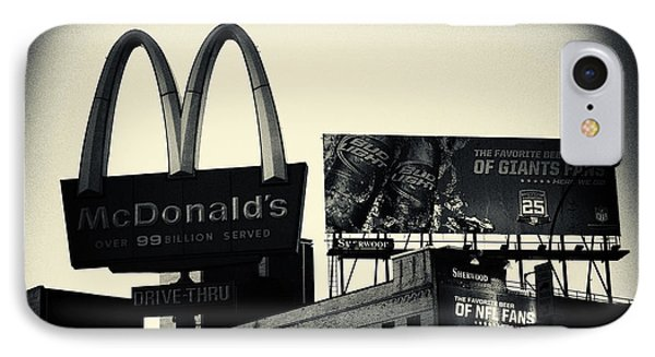 Mcd Westside New York City IPhone Case by Sabine Jacobs