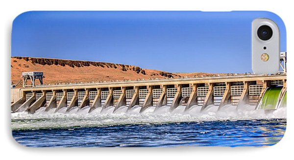 Mcnary Dam Phone Case by Robert Bales