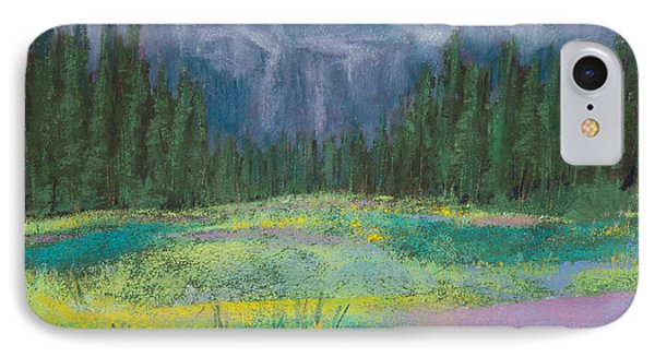 Meadow In The Cascades Phone Case by David Patterson