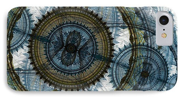 Mechanical Circles IPhone Case by Martin Capek