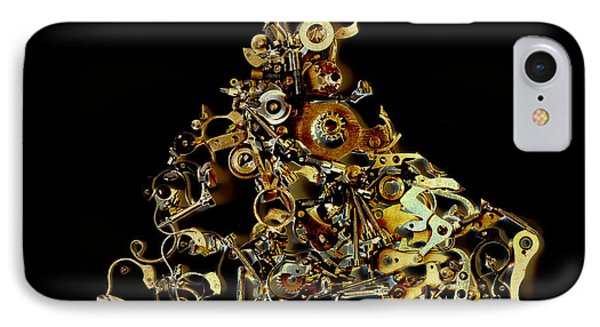 Mechanical - Dog Phone Case by Fran Riley