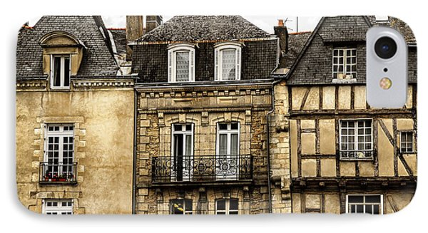 Medieval Houses In Vannes IPhone Case by Elena Elisseeva