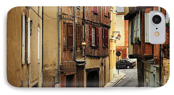 Medieval Street In Albi France Phone Case by Elena Elisseeva