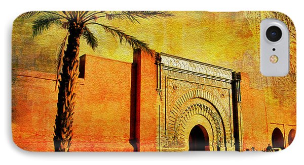 Medina Of Marakkesh IPhone Case by Catf