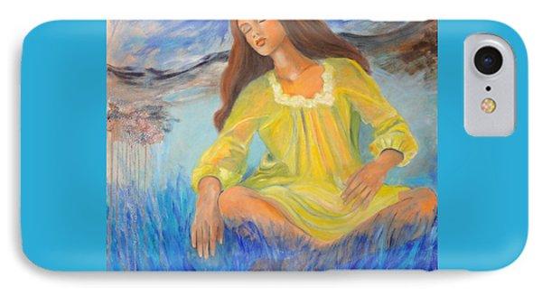 Meditation Phone Case by Dagmar Helbig