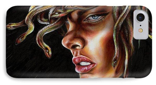 Medusa No. One Phone Case by Hiroko Sakai