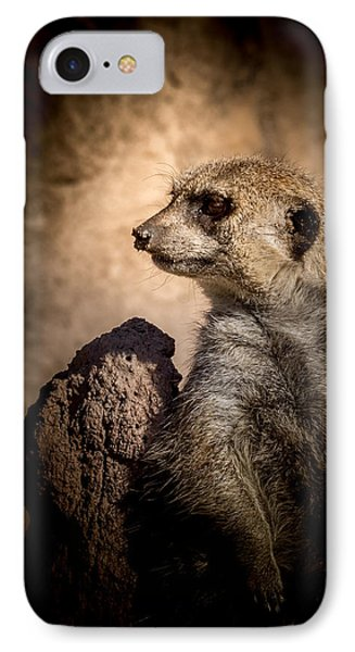 Meerkat 12 IPhone 7 Case by Ernie Echols
