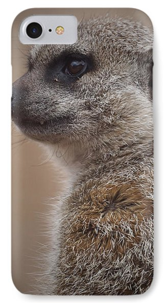 Meerkat 9 IPhone 7 Case by Ernie Echols