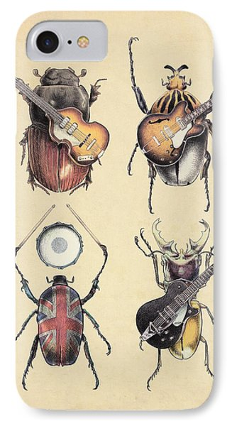Meet The Beetles IPhone 7 Case by Eric Fan