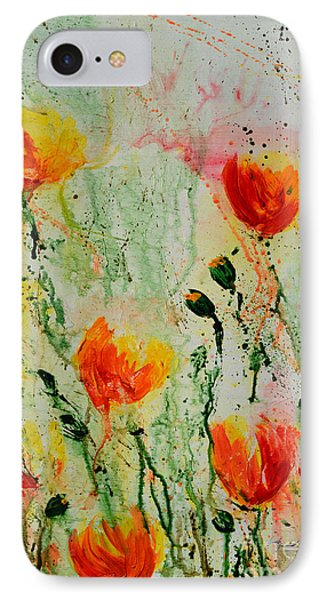 Melody Of Spring- Flower Phone Case by Ismeta Gruenwald