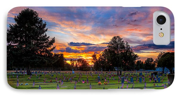 Memorial Day Remembrance IPhone Case by Robert Bales