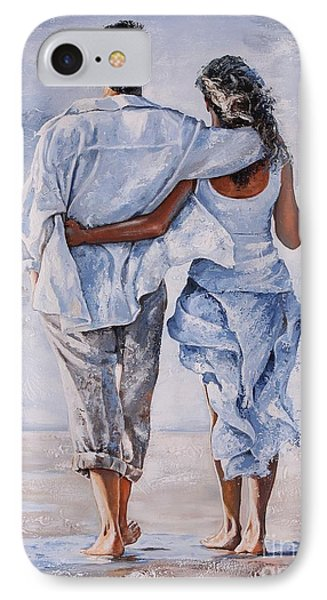 Memories Of Love IPhone Case by Emerico Imre Toth