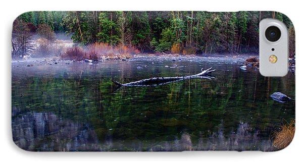 Merced River Riverscape IPhone 7 Case by Scott McGuire