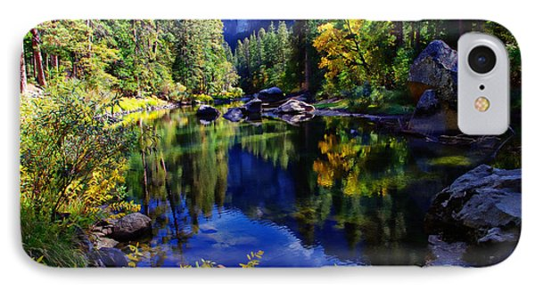 Merced River Yosemite National Park IPhone Case by Scott McGuire