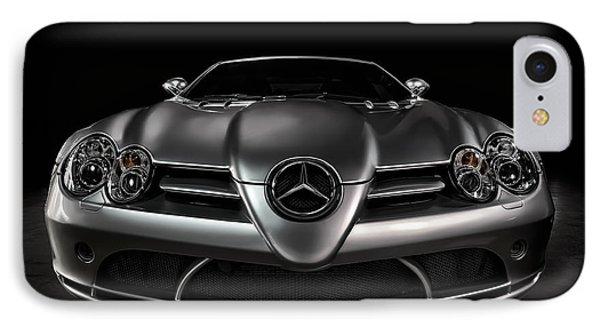 Mercedes Mclaren Slr IPhone Case by Douglas Pittman