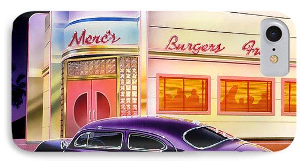 Mercs Burgers IPhone Case by Bruce Kaiser