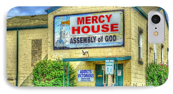 Mercy? IPhone Case by MJ Olsen