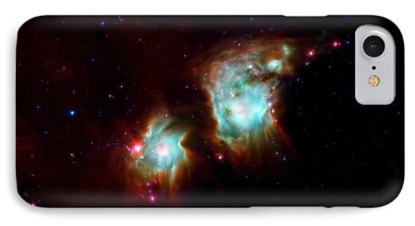 Messier 78 Star Formation Phone Case by The  Vault - Jennifer Rondinelli Reilly