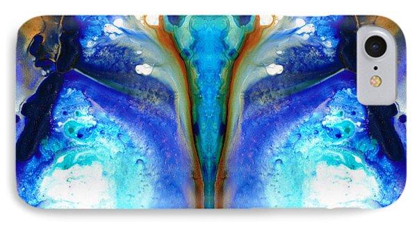 Metamorphosis - Abstract Art By Sharon Cummings IPhone Case by Sharon Cummings