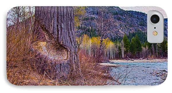 Methow Riverbank Phone Case by Omaste Witkowski