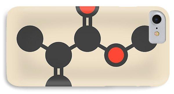 Methyl Methacrylate Molecule IPhone Case by Molekuul