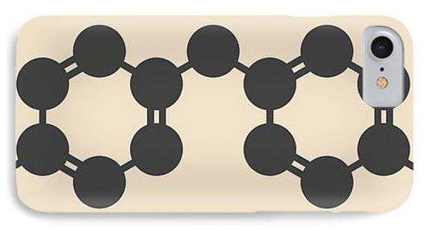 Methylene Diphenyl Diisocyanate Molecule IPhone Case by Molekuul