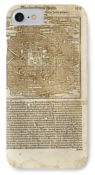Mexico City IPhone Case by Library Of Congress, Geography And Map Division