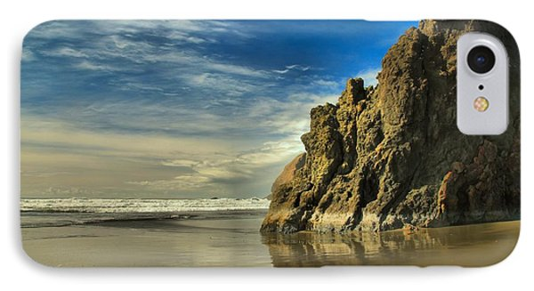 Meyers Beach Stacks Phone Case by Adam Jewell
