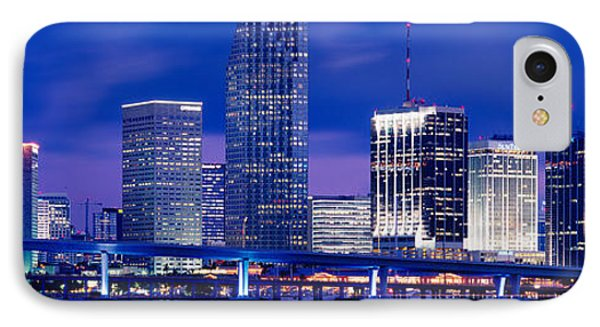 Miami, Florida, Usa IPhone Case by Panoramic Images