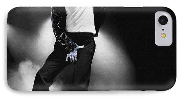 Michael Jackson - Billie Jean IPhone Case by Don Kuing