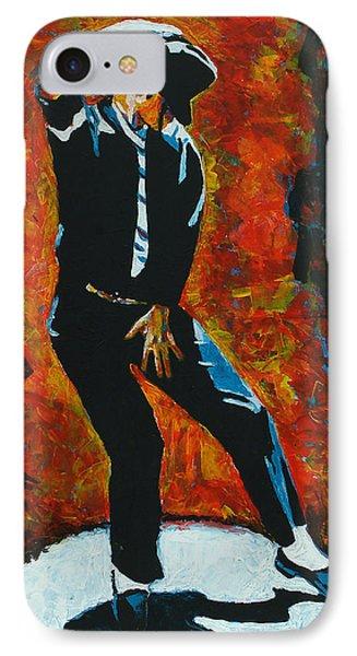 Michael Jackson Dancing The Dream Phone Case by Patrick Killian
