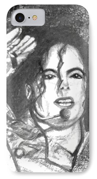 Michael Jackson IPhone Case by Marcello Cicchini