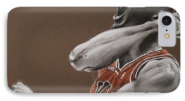 Michael Jordan - Chicago Bulls Phone Case by Prashant Shah