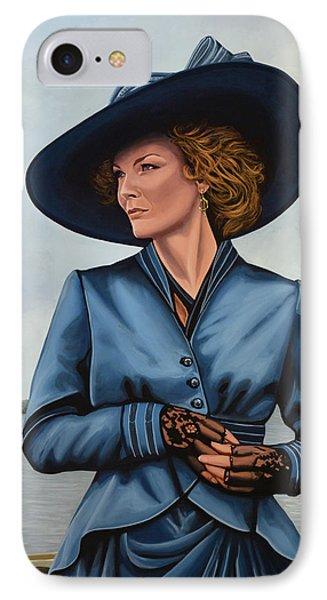 Michelle Pfeiffer IPhone Case by Paul Meijering