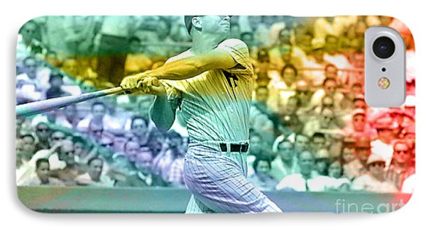 Mickey Mantle IPhone Case by Marvin Blaine