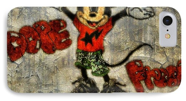 Mickey Of 11 Phone Case by Travis Hadley